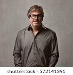man portrait | Shutterstock . vector #572141395