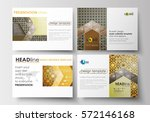 set of business templates for... | Shutterstock .eps vector #572146168