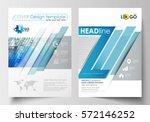 business templates for brochure ... | Shutterstock .eps vector #572146252