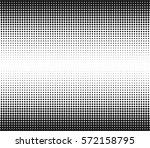 halftone dots vector texture.... | Shutterstock .eps vector #572158795