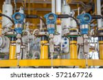 pressure transmitter installed... | Shutterstock . vector #572167726