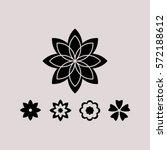 flower   Shutterstock .eps vector #572188612