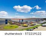 modern logistics center | Shutterstock . vector #572219122