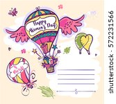 Hand Drawn Vector Template...