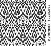 vector ikat seamless pattern....   Shutterstock .eps vector #572253988