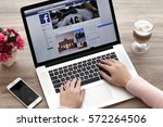 alushta  russia   october 20 ... | Shutterstock . vector #572264506
