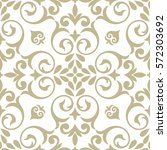 vector seamless pattern. luxury ... | Shutterstock .eps vector #572303692