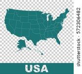 high detailed vector map  ... | Shutterstock .eps vector #572306482