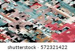 abstract complex pattern... | Shutterstock .eps vector #572321422