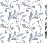 floral seamless pattern.... | Shutterstock .eps vector #572341306