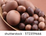 Small photo of Chocolate Easter eggs