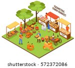 local growing outdoor funfair... | Shutterstock .eps vector #572372086