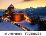 vaduz  liechtenstein.... | Shutterstock . vector #572388298