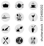 Restaurant Thematic Icons