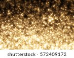 golden abstract sparkles or...