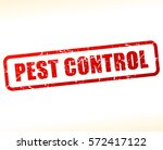 illustration of pest control... | Shutterstock .eps vector #572417122