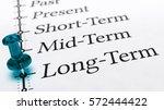 3d illustration of a pushpin...   Shutterstock . vector #572444422