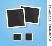 realistic looking photo frames  ... | Shutterstock .eps vector #572459416