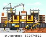 vector illustration on the... | Shutterstock .eps vector #572474512