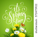 Spring Hand Lettering On...