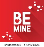 valentine's day card | Shutterstock .eps vector #572491828