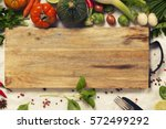 vegetables  herbs  spices and... | Shutterstock . vector #572499292