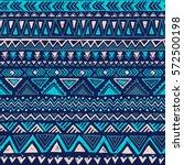 blue color tribal vector... | Shutterstock .eps vector #572500198