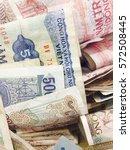 old vietnam banknote currency | Shutterstock . vector #572508445