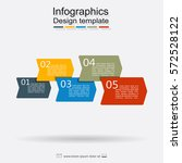 infographic design template... | Shutterstock .eps vector #572528122