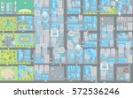vector illustration. city view... | Shutterstock .eps vector #572536246