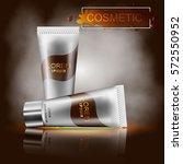moisturizing cosmetic ad... | Shutterstock .eps vector #572550952