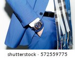 closeup fashion image of luxury ... | Shutterstock . vector #572559775