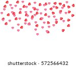 valentine's day background with ... | Shutterstock .eps vector #572566432
