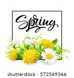Inscription Spring Time On...