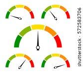 Speed Metering Icon Vector...