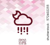 weather icon. flat style for...   Shutterstock .eps vector #572602255