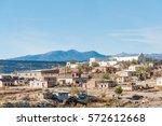 laguna pueblo  native american...   Shutterstock . vector #572612668