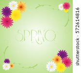 Spring Vector Greeting Card...