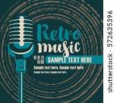 cover cd disc vinyl records ... | Shutterstock .eps vector #572635396