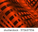 abstract illustration of red...   Shutterstock . vector #572637556