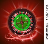 realistic casino gambling... | Shutterstock .eps vector #572647546