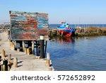 Vintage Fisherman Shed  Stilts...