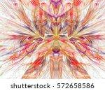 Ufo. Abstract Magic Energy...