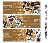 set of horizontal banners about ...   Shutterstock .eps vector #572658736