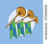 cartoon vector styled...   Shutterstock .eps vector #572669242
