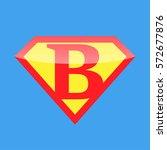logo super hero   Shutterstock .eps vector #572677876