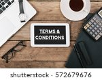terms and conditions text ... | Shutterstock . vector #572679676
