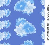 vintage seamless pattern with... | Shutterstock .eps vector #572701882
