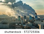 Thick Smoke From Thermal Power...