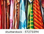 stack of colorful egyptian... | Shutterstock . vector #57273394